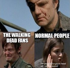 We've Seen Worse - The Walking Dead Memes that live on after the characters and season ended. Memes are the REAL zombies of the show. Walking Dead Funny, Walking Dead Zombies, Carl The Walking Dead, The Walk Dead, Walking Dead Season, Walking Dead Quotes, Random Walk, Z Nation, Twd Memes
