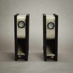 Concrete speakers with Fostex FE83en full-range drivers Hangfalak 0a0a8b5842