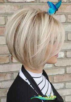 Sign up for a free account  <br> Short Layered Haircuts, Haircuts For Fine Hair, Medium Bob Hairstyles, Haircut For Thick Hair, Cool Haircuts, Straight Hairstyles, Prom Hairstyles, Celebrity Hairstyles, Braided Hairstyles