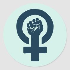 Shop Equal Rights for Women Classic Round Sticker created by heartlocked. Office Stationery, Equal Rights, Personalized Stationery, Animal Skulls, Round Stickers, Diy Face Mask, Office Gifts, Gifts For Dad, Feminism