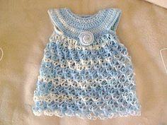 Ravelry: Crochet Baby Dress - Solomon's Knot pattern by Teresa Richardson