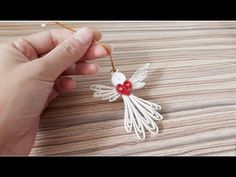 Quilling of Christmas Ideas -Christmas Angel - Easy & Simple Christmas design 13 - YouTube