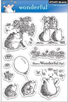 Wonderful - Clear Stamps