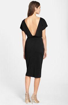 Elliatt Ponte Blouson Dress