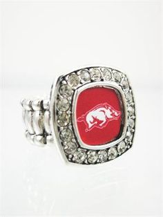 Arkansas Razorbacks Stretch Ring