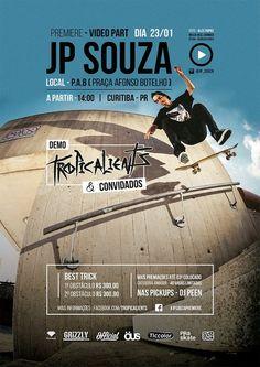 Premiere JP Souza. - Clube do skate.