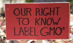 The East Coast has been getting attention on the state by state effort to label genetically-engineered food