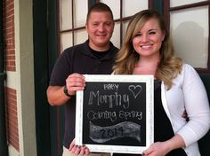 Pregnancy announcement baby announcement