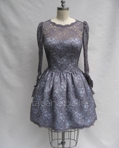 Holiday season is coming ! Classic lace in youthful silhouette make this dress more playful and fun !  #dress #lace #lacedress #fashion #tailoring #custommade #style #dressmaking  #custommade