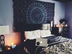 Mandala Bedroom Art