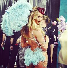 Backstage shot #VSfashionshow @tommyton thanks x - @angelcandices- #webstagram