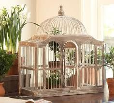 vintage birdcage wedding card holder - Google Search