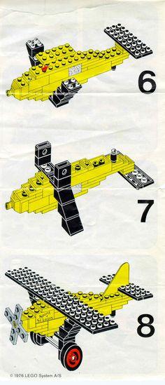 Legoland - Spirit of St. Louis [Lego 661]