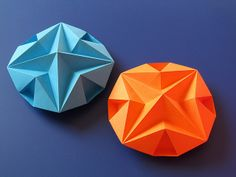 Stella dodecagonale – Dodecagonal Star. Origami, from a sheet of copy paper, 21 x 21 cm.  Designed and folded by Francesco Guarnieri, July 2013. Instructions Crease Pattern: http://guarnieri-origami.blogspot.it/2013/07/stella-dodecagonale.html