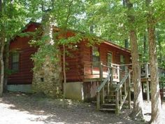 The #beautiful #cabins of the WhipPoorWill Resort & Fudge Factory in Broken Bow, #Oklahoma are only made better with an on site old fashioned candy store and its location near Beavers Bend State Park.
