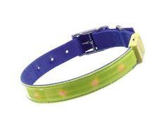 Aus der Kategorie Sicherheitshalsbänder   gibt es, zum Preis von EUR 2,13  Länge: 45 cm, Breite: 25 mm. mehr Sicherheit bei Dunkelheit, mit diesem superhell blinkendem Sicherheitshalsband aus hautfreundlichem Nylonmaterial ist Ihr Hund bis ca. 400 m weit sichtbar, zusät...