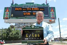 VICTORIA BITTER - The beer brand has launched an Australian promotion to give away Live Ashes Scoreboards which stream live scores direct from the ground into people's homes and workplaces. The replica scoreboards will deliver live Ashes scores via Wifi. The campaign has an experiential outdoor execution, with giant scaled versions sited in Sydney, Brisbane and Melbourne, which are over 6 meters high and 15 meters wide. The scoreboards can be won via an on-pack promotion.