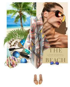 """""""The beach"""" by lacas ❤ liked on Polyvore featuring H&M, Dolce&Gabbana, Hermès, Retrò and oasap"""