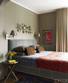 The bedroom alcove of this NYC studio| Contemporary Decor | Luxury Design | Modern Design | Unique Design | Find amazing furniture in www.bocadolobo.com/en