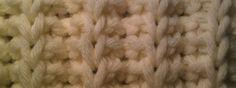Vals patent - methode 1 Knitting Stitches, Crochet Patterns, Knitting Patterns, Knit Stitches, Crochet Tutorials, Loom Knitting Stitches, Crocheting Patterns, Crochet Pattern, Knitting