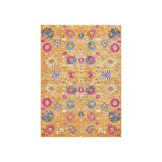 Nourison Passion Floral Rug, Orange Oth