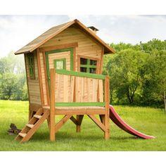 Cabane enfant ROBIN en cèdre vernis naturel
