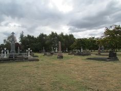 Graveyard I Took A Photo Of After Athletics Day
