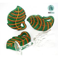 Name : Green Leaf Shaped Coasters (Set of 3) Price : Rs 549 Buy Now at : http://www.indikala.com/lamps-coasters/green-leaf-shaped-coasters-set-3-of.html #‎Ethnic‬ ‪#‎Luxury‬ ‪#‎BuyOnline‬ ‪#‎India‬