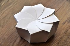 Sustainable Origami Food Box | Awesome Design Inspiration