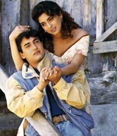 Juhi Chawla, Bollywood Couples, Aamir Khan, Madhuri Dixit, Couple Photos, Couple Shots, Couple Pics, Couple Photography