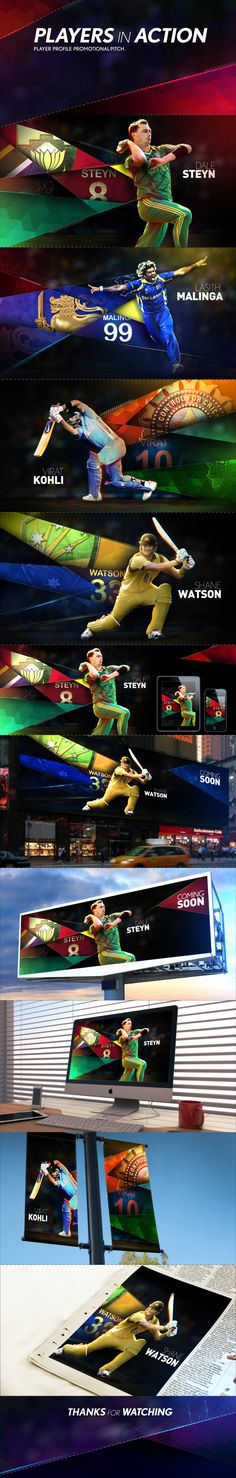 PLAYERS in ACTION Pitch on Behance