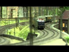 Model Railway about Coal and Steel Industry in H0 Scale - YouTube