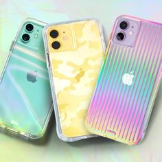 Protect your new iPhone with Case-Mate's fashion-forward premium cases. Discover our new iPhone 2019 cases collection here and choose your favorite. Camo Phone Cases, Girly Phone Cases, Pretty Iphone Cases, Diy Phone Case, Iphone Phone Cases, New Iphone, Iphone Case Covers, Iphone Headphones, Iphone Watch