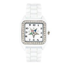 Rhinestone Square G-Shock Watch for Order of the Eastern Star