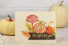 handmade Thanksgiving card ... die cut montage ... luv the coloring ...