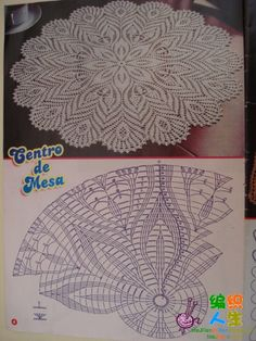#_FEATHERS Crochet Doily