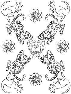 Animal Mandala Coloring Pages For Kids Mira Reisberg May 2012