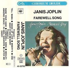 Janis Joplin - Farewell Song (Cassette) at Discogs Janis Joplin, Classic Rock Artists, Song Words, One Night Stands, Blues Rock, Music Photo, Music Covers, World Music, American Horror Story