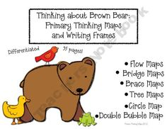 Thinking about Brown Bear: Thinking Maps and Writing Frame