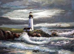 Gina Femrite tarafından umut Oregon Feneri Işın