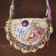 How to make a purse out of a bra
