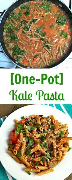 one pot kale pasta