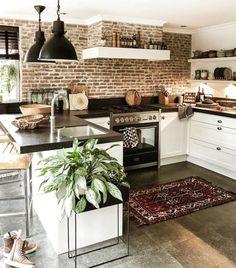 Home Decor Kitchen, Kitchen Interior, New Kitchen, Home Interior Design, Home Kitchens, Kitchen Design, Design Bathroom, Interior Modern, Bathroom Ideas