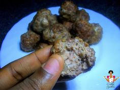 Dobbys Signature: Nigerian food blog   Nigerian food recipes   African food blog: How to make homemade meatballs with minced beef