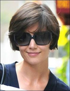 Cute slightly grown out short style.