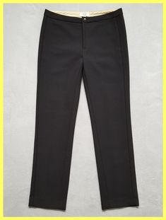 Hoss intropia Black Anthropologie Wool Straight Trousers 40 Skinny Pants Size 8 (M, 29, 30). Free shipping and guaranteed authenticity on Hoss intropia Black Anthropologie Wool Straight Trousers 40 Skinny Pants Size 8 (M, 29, 30)New Without Tags Hoss Intropia Anthropologie Black...