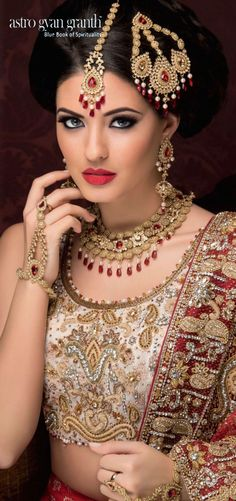 #Garnetjewellery collections by Astro Gyan Granth   Bridal Garnet jewellery collection......