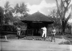 a dutch indies police station in malang, 1930