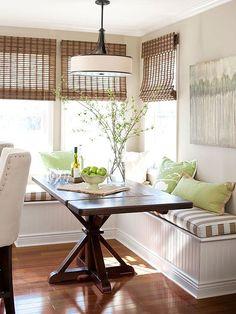 Comment aménager une petite salle à manger! Voici 43 idées…