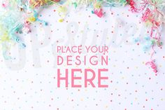 Let your brand SHINE! Advertise your products on professionally styled backgrounds and show them off to their best. Easily add in your print,